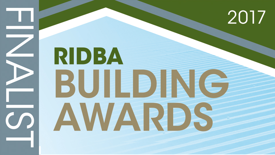 RIDBA Building Awards graphic. 2017 finalists