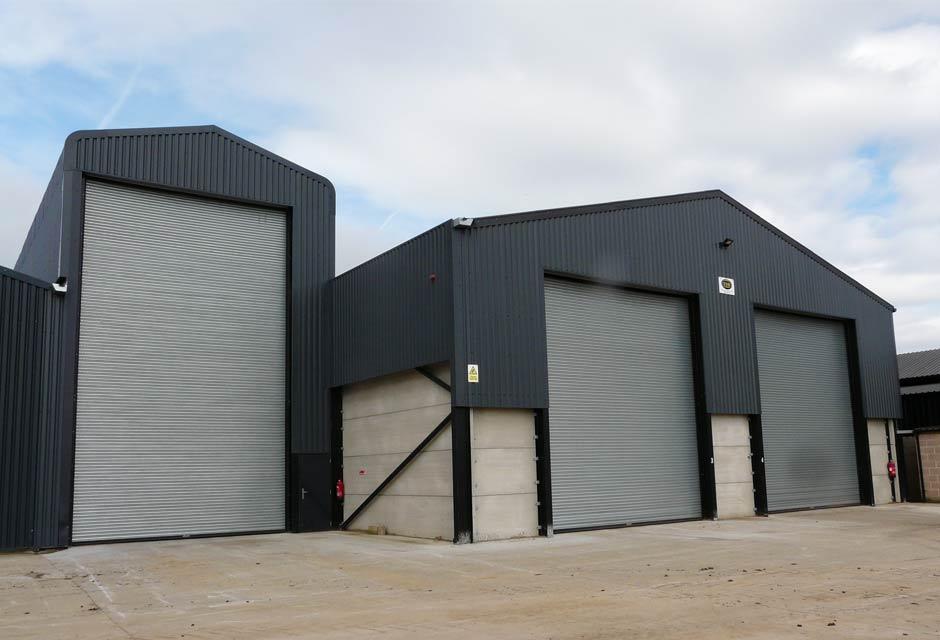 2000T Grain Store & Dryer Housing