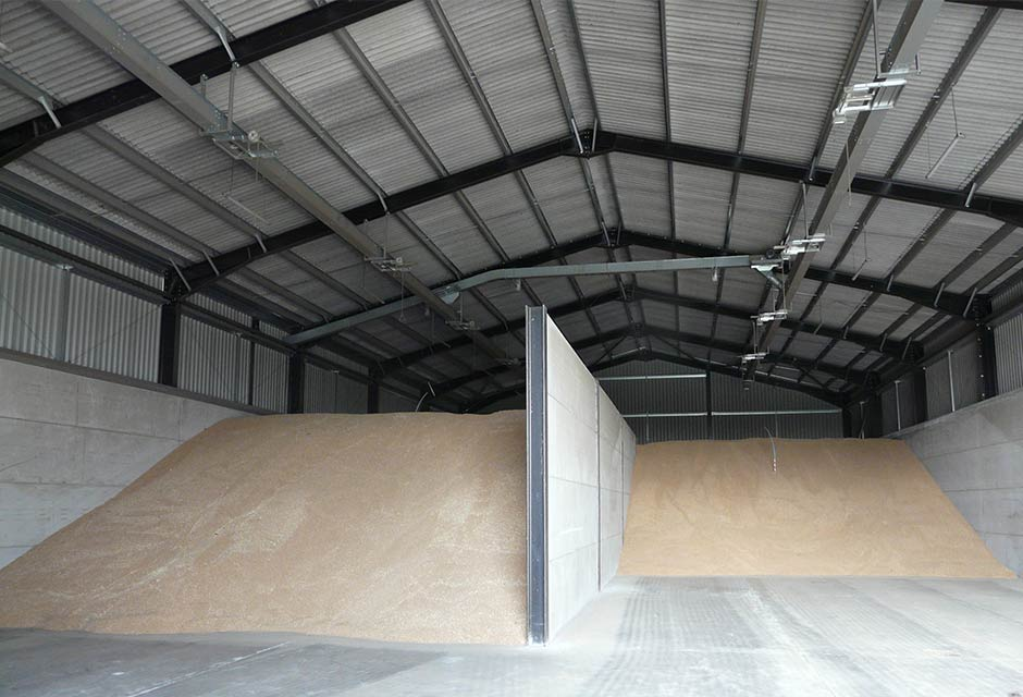 2000T Grain Store & Dryer Housing Interior
