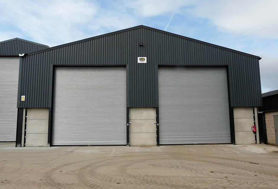 2000T Grain Store & Dryer Housing Frontage